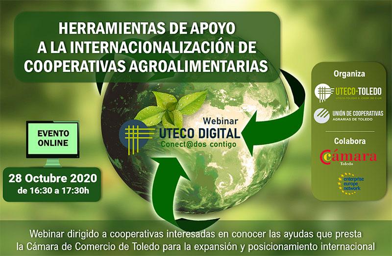 Webinar: Herramientas de apoyo a la Internacionalización de Cooperativas